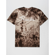 PRIMITIVE Nuevo Script Brown Mens T-Shirt