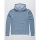 INDEPENDENT TRADING COMPANY Midweight Pigment Dyed Blue Mens Hoodie