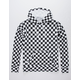 INDEPENDENT TRADING COMPANY Checkered Mens Hoodie