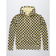 INDEPENDENT TRADING COMPANY Pigment Dyed Checkered Mens Hoodie