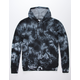 INDEPENDENT TRADING COMPANY Tie Dye Charcoal & Black Mens Hoodie