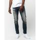 RSQ Seattle Knee Dart Mens Skinny Taper Stretch Jeans