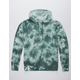 INDEPENDENT TRADING COMPANY Tie Dye Green Mens Hoodie