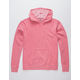 INDEPENDENT TRADING COMPANY Midweight Pigment Dyed Pink Mens Hoodie