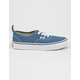 VANS Authentic Elastic Lace Blue Kids Shoes