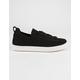 SODA Grovel Black Womens Slip-On Shoes