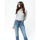 RSQ Sydney Crop Dark Blast Womens Flare Jeans