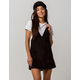 RUSTY Maze Pinafore Dress