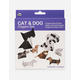 Cat & Dog Origami Set