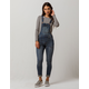 SKY AND SPARROW Roll Cuff Womens Denim Overalls