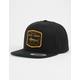 SALTY CREW Stealth Black Mens Snapback Hat