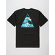 HUF High Tide Triangle Mens T-Shirt