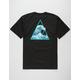 HUF High Tide Triangle Mens T-Shirt