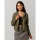 SKY AND SPARROW Twill Womens Hooded Anorak Jacket