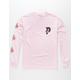 PRIMITIVE Dos Flores II Pink Mens T-Shirt