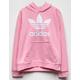 ADIDAS Originals Pink Girls Hoodie