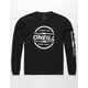 O'NEILL Striker Black Boys T-Shirt