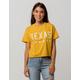 FULL TILT Texas Star Womens Crop Tee
