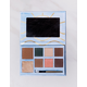 SKY AND SPARROW Beach Eyeshadow, Highlighter & Bronzer Palette