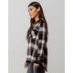 RUSTY Broadcast Womens Flannel Shirt