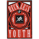 YOUNG & RECKLESS Crowned Sticker