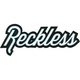 YOUNG & RECKLESS Script Sticker