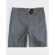 BLUE CROWN Charcoal Boys Chino Shorts