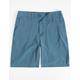 VALOR Pigment Dyed Ocean Boys Hybrid Shorts