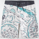 QUIKSILVER Willy's Gold Mens Boardshorts