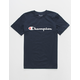 CHAMPION Heritage Navy Boys T-Shirt