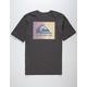 QUIKSILVER OG Classic Patch Black Mens T-Shirt