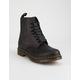 DR MARTENS Black Glitter Pascal Womens Boots