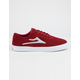 LAKAI Sheffield Burgundy Mens Shoes