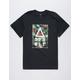 ASPHALT Hibiscus Fill Mens T-Shirt
