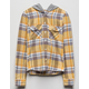 FULL TILT Hooded Girls Flannel Shirt