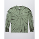 HUF Domestic Olive Mens T-Shirt