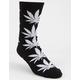 HUF Plantlife Black Mens Crew Socks
