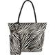 Zebra Printed Handbag