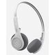 JLAB Rewind Wireless Retro White Headphones
