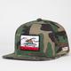BILLABONG Native Camo Mens Snapback Hat
