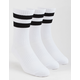 PAIR OF THIEVES 3 Pack Black & White Womens Crew Socks
