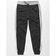 BROOKLYN CLOTH Varsity Stripe Black Snow Boys Jogger Pants
