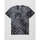 HUF Domestic Crystal Wash Mens T-Shirt