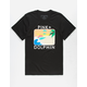 PINK DOLPHIN Palm Portrait Mens T-Shirt