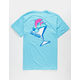 PINK DOLPHIN Cocktail Mens T-Shirt