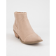 REPORT Dixie Tan Womens Booties