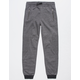 HOLLYWOOD Brighton Black Boys Moto Jogger Pants