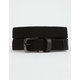 NIKE Stretch Woven Kids Black Belt