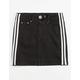 ALMOST FAMOUS Side Stripe Girls Denim Skirt