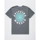 SPITFIRE OG Classic Charcoal Mens T-Shirt